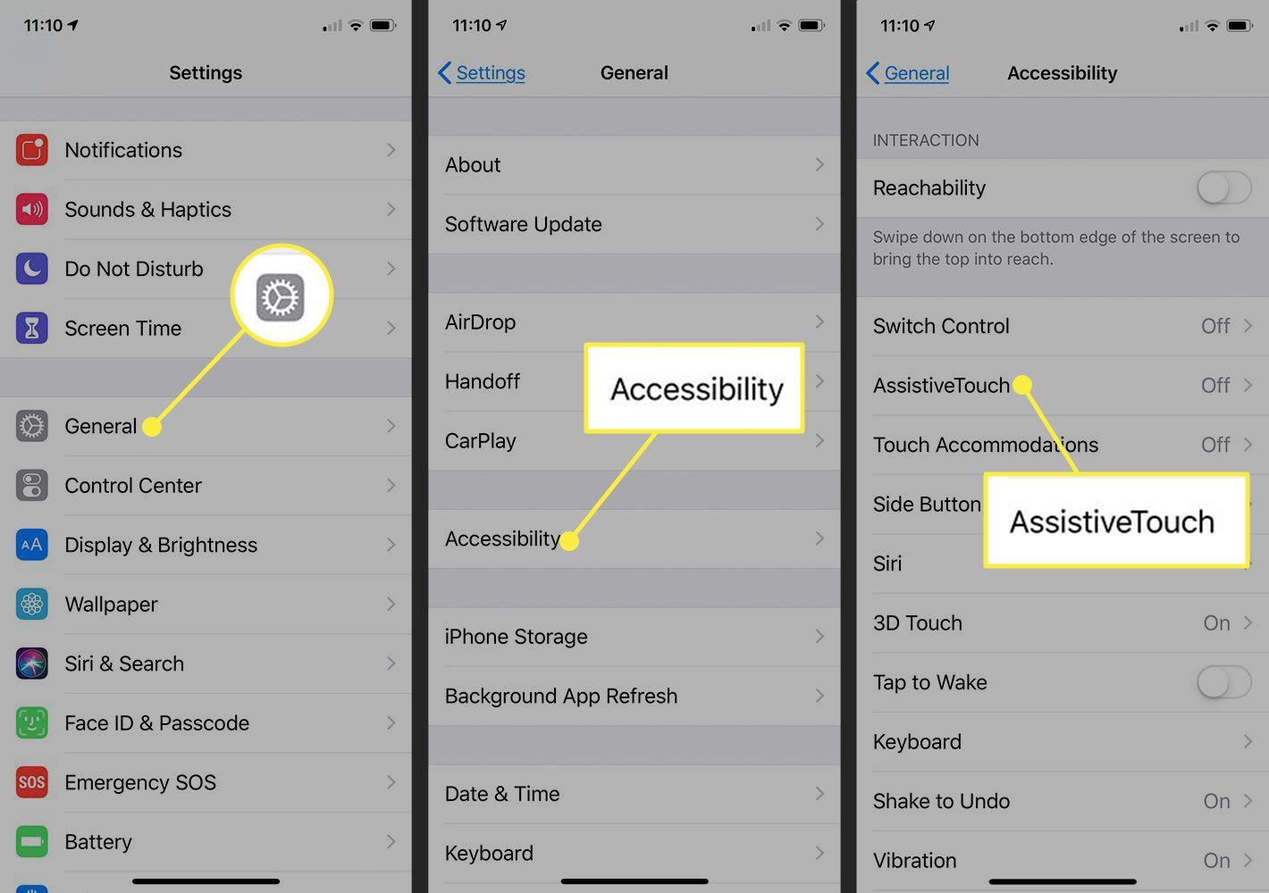 How to use shortcuts iphone 11