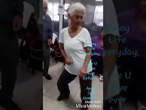 Old woman sexy video