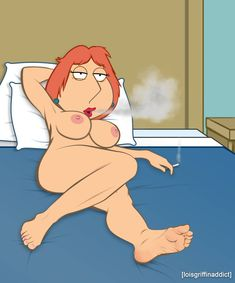 Naked family guy characters