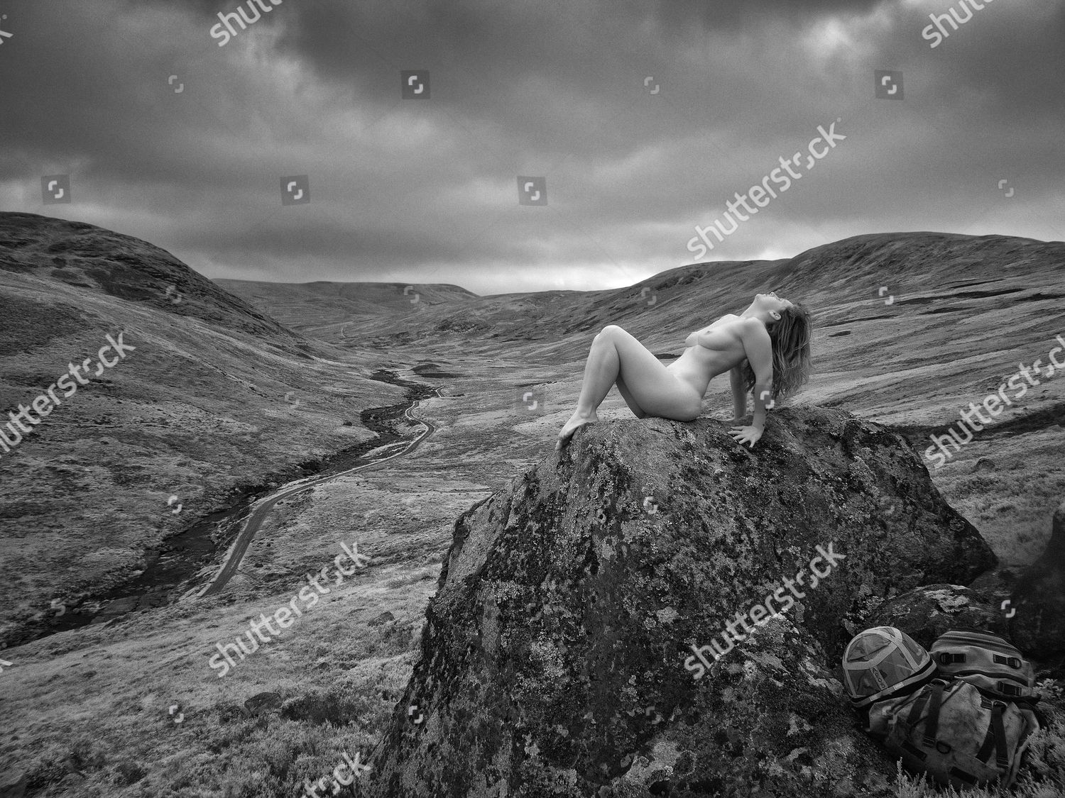 Military wives photographed nude